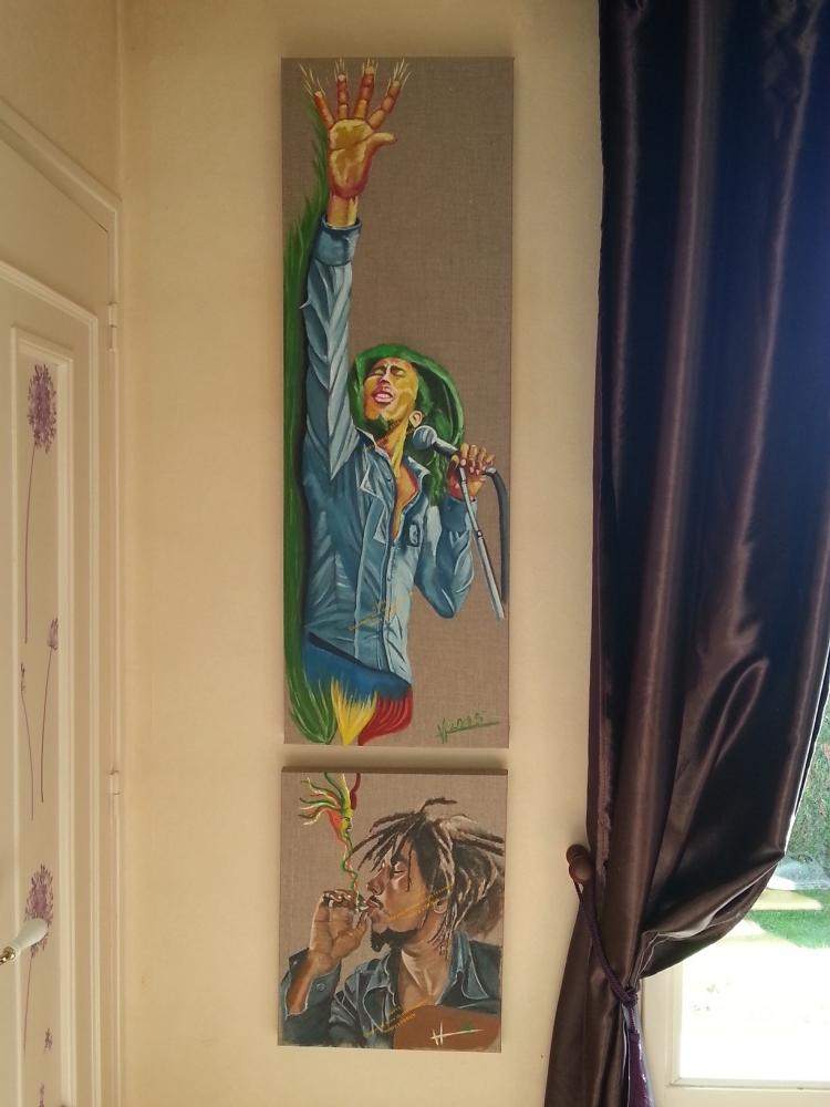 Bob Marley by lhommeloiret